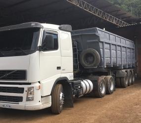 Estrutura - Caminhão Caçamba (FC268)